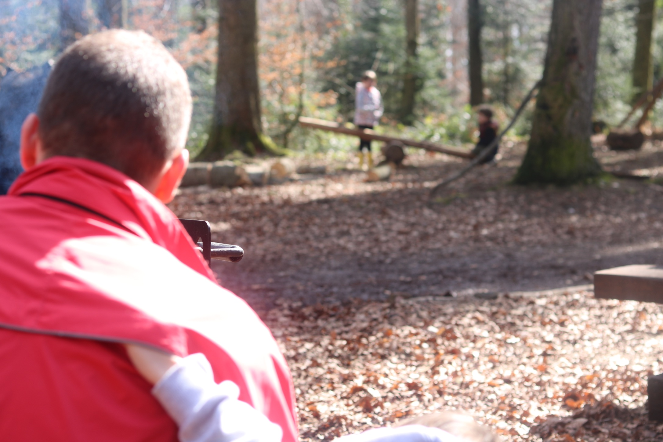 choses simples forêt famille thereseandthekids