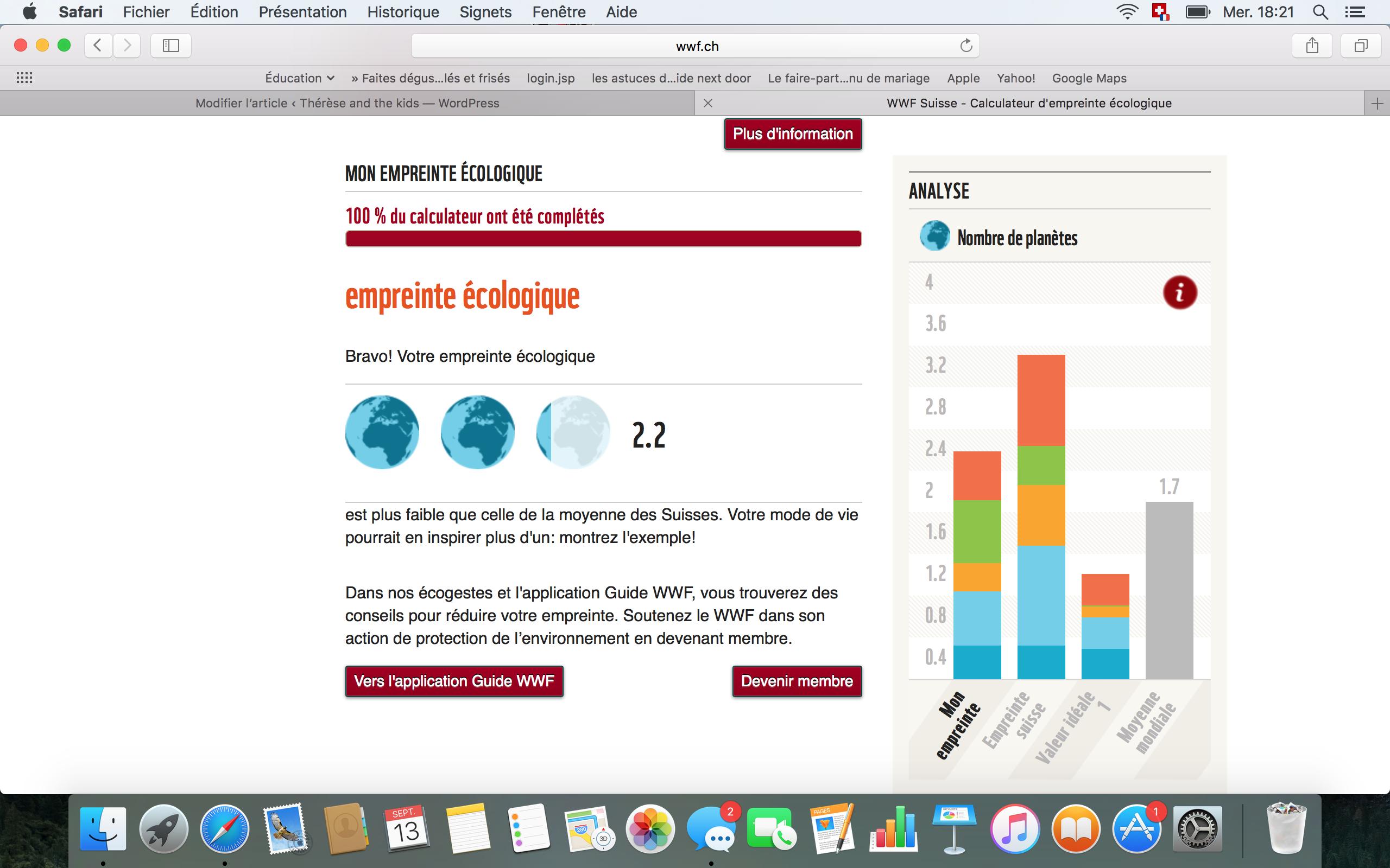 empreinte écologique déchets wwf forgenerationstocome thereseandthekids blog suisse