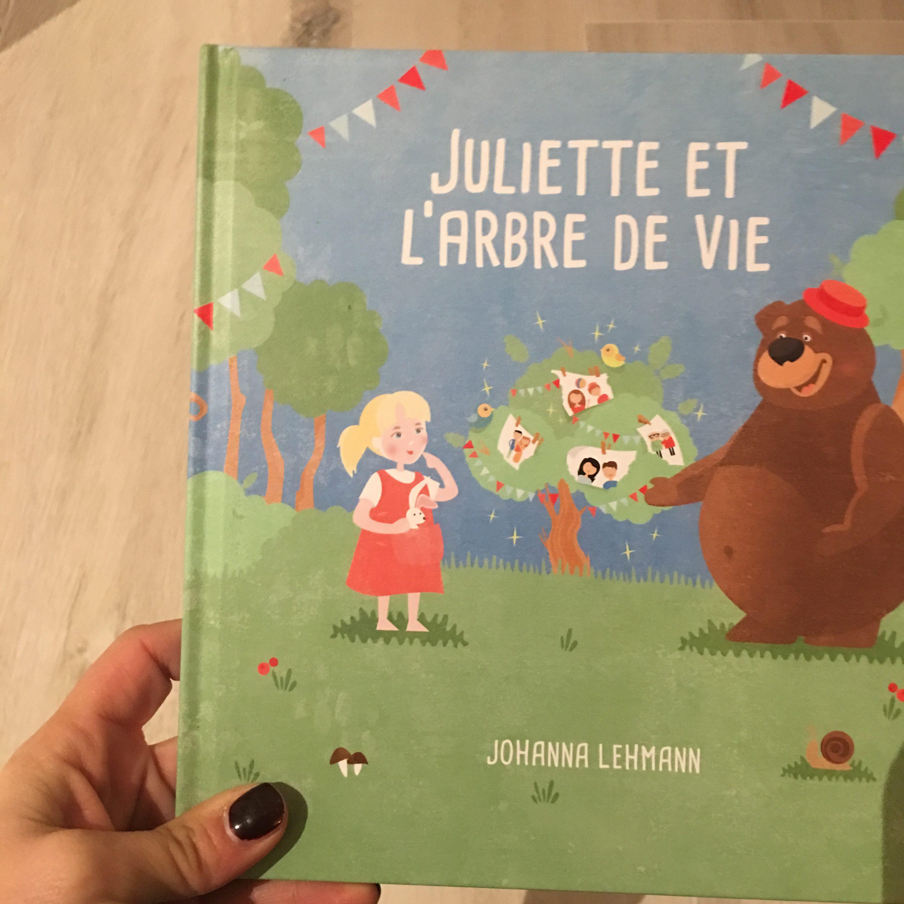 livre personnalisé cadeau noel inspiration blog maman enfant thereseandtheikids l'arbre de vie