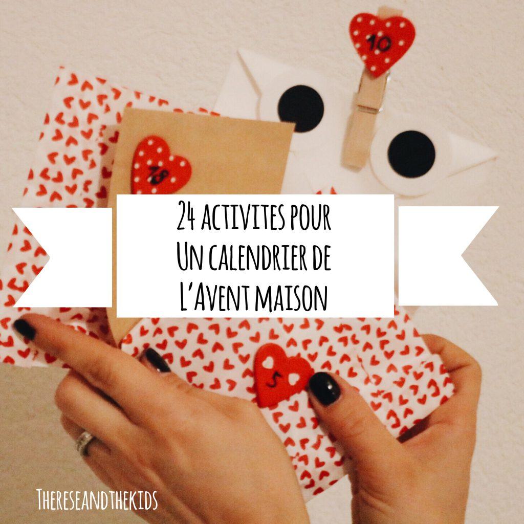 Calendrier De Lavent Humour.24 Activites A Mettre Dans Un Calendrier De L Avent Maison