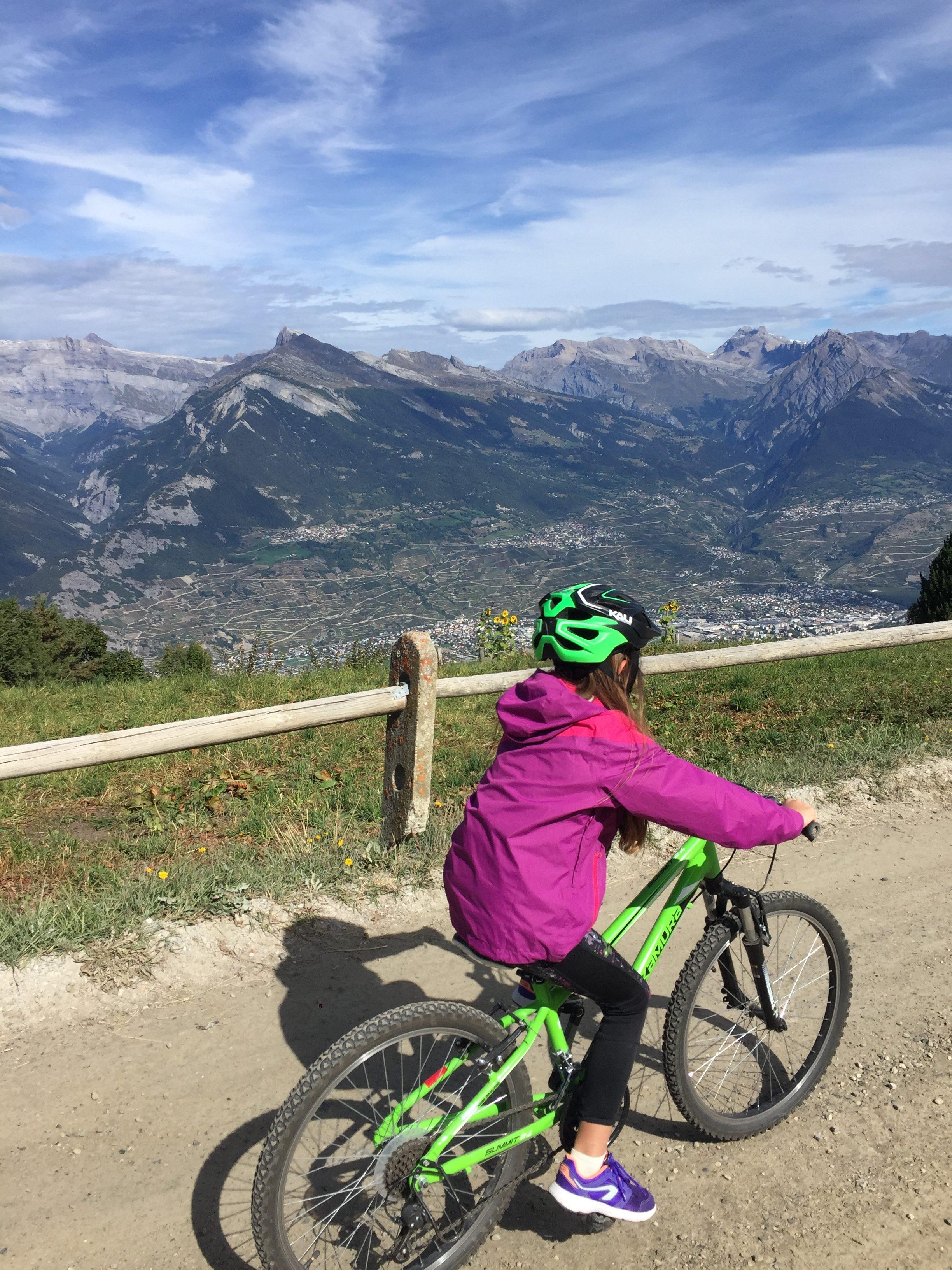 nendaz randonnée famille blog suisse thereseandthekids vtt