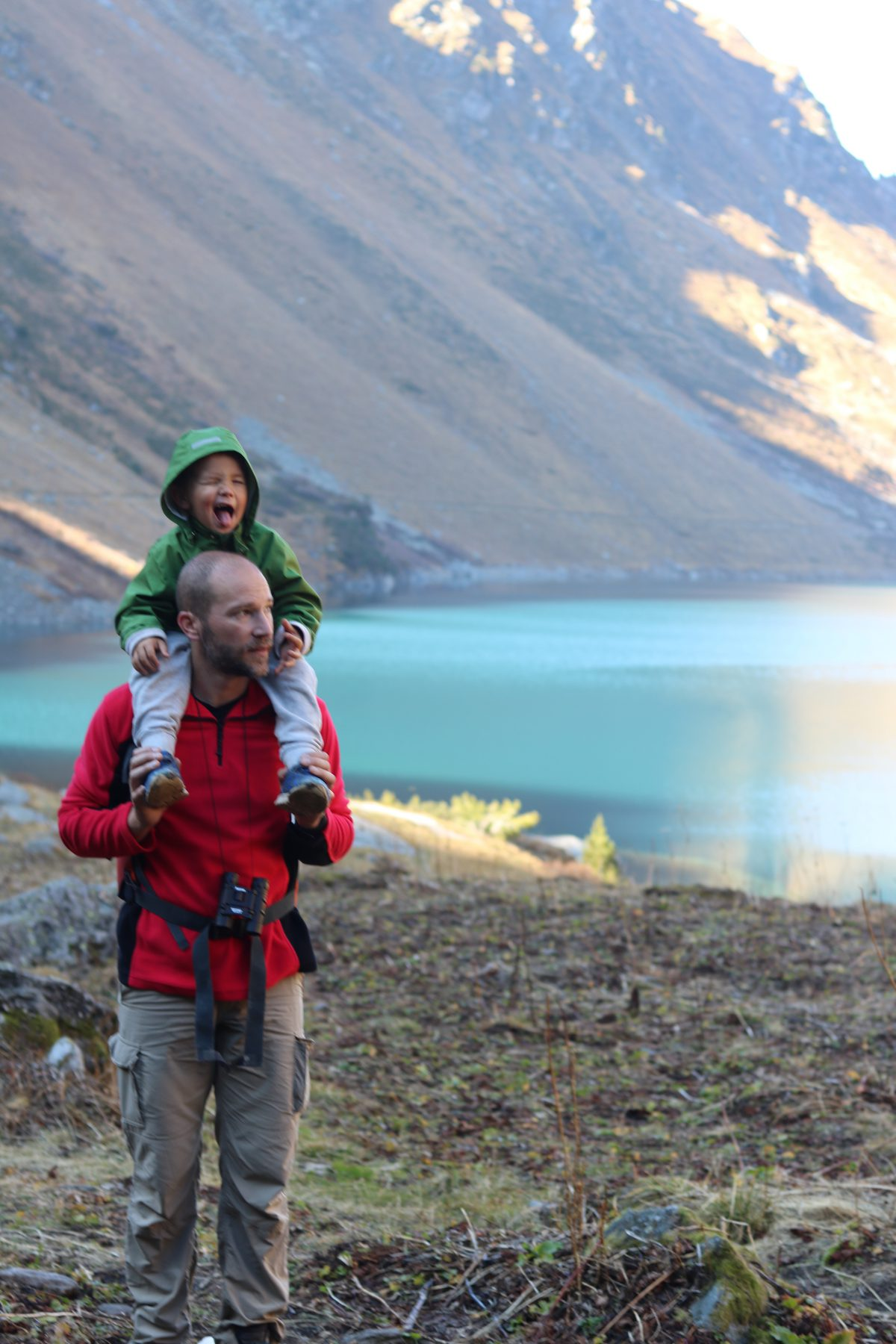 cleuson barrage randonnee famille valais suisse thereseandthelkids blog