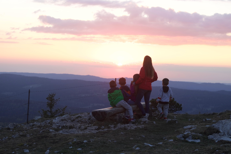 dent vaulion randonnée famille blog thereseandthekids suisse sunset